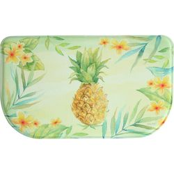 Bacova Tropical Pineapple Memory Foam Slice Mat