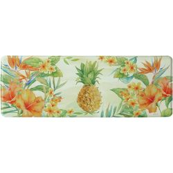 Bacova Tropical Pineapple Memory Foam Runner