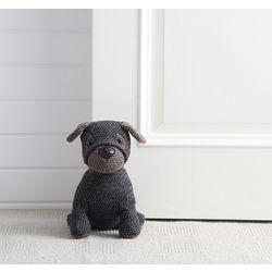 Henry The Herringbone Dog Door Stopper