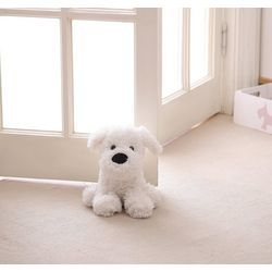 Walter The White Poodle Door Stopper