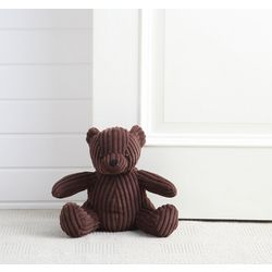 Morgan Home Bobby The Bear Door Stopper