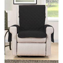 Blissful Living Black Reversible Chair Cover