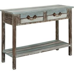 Coast To Coast Islander Two Drawer Console Table