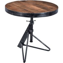 Coast To Coast Braden Adjustable Round Accent Table