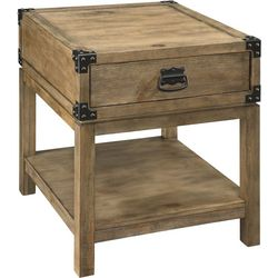 Coast to Coast Carmel Burnished Trunk End Table