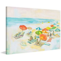 Marmont Hill Beach Diversity Painting Print Canvas Wall Art