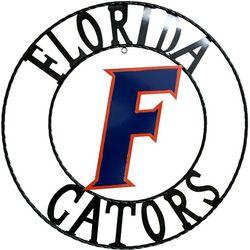Florida Gators 24'' Wrought Iron Wall Decor
