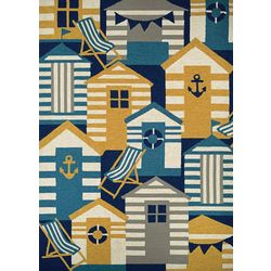 Couristan Beach Hut Area Rug