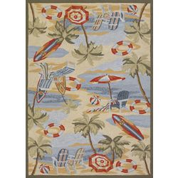 Couristan Cocoa Beach Area Rug