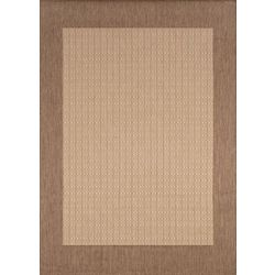 Couristan Natural Checkered Area Rug