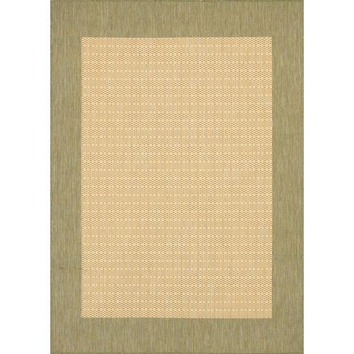 Checked Area Rugs: Couristan Green Checkered Area Rug