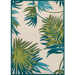 Couristan Jungle Leaves Area Rug