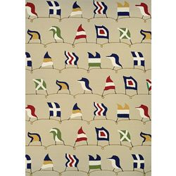 Couristan Nautical Flags Area Rug