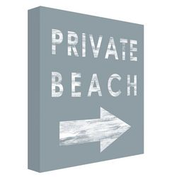 PTM Images Private Beach Wall Decor
