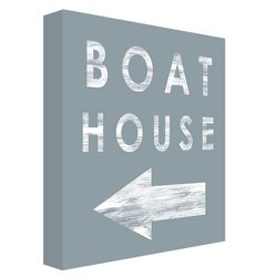 PTM Images Boat House Wall Decor