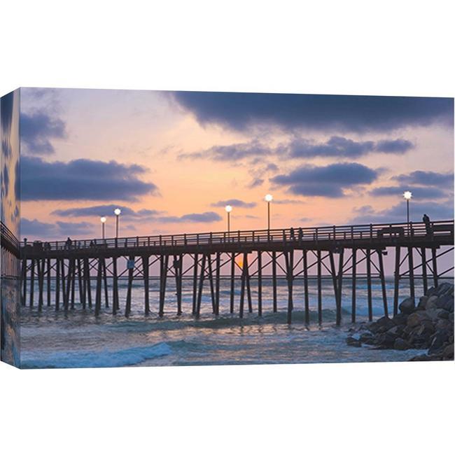 Ptm Images Oceanside Pier 3 Canvas Wall Art Bealls Florida