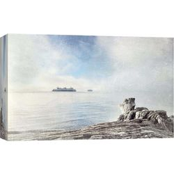 PTM Images Puget Sound Morning Canvas Wall Art