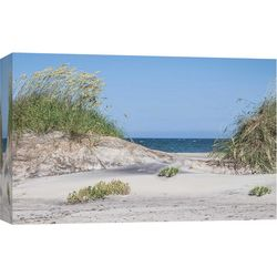 Pea Island Canvas Wall Art