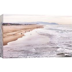 PTM Images Ocean Beach Canvas Wall Art
