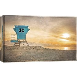 PTM Images Life Guard Station Canvas Wall Art