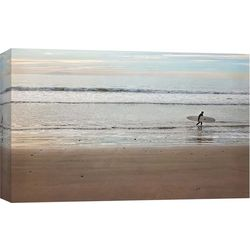 Surfer Dude Canvas Wall Art