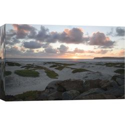 PTM Images Coronado Beach Dusk Canvas Wall Art
