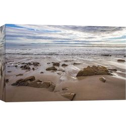 PTM Images Thousand Steps Beach Receding Canvas Wall Art