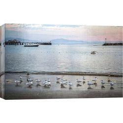 Harbor Birds Canvas Wall Art