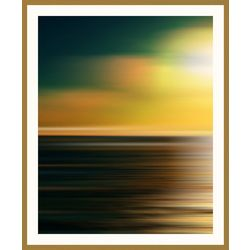 PTM Images Sunset Garden I Framed Wall Art