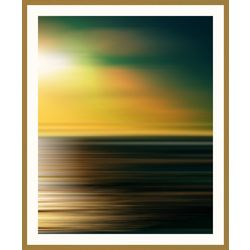 PTM Images Sunset Garden II Framed Wall Art