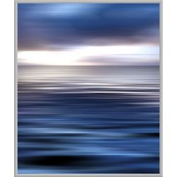 In The Blue II Framed Wall Art