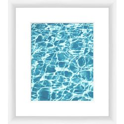 Aquas I Framed Wall Art