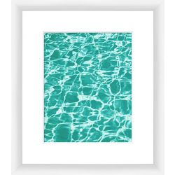 PTM Images Aquas II Framed Wall Art