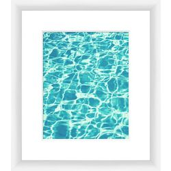 PTM Images Aquas III Framed Wall Art