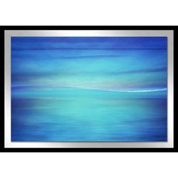 Into The Blue I Framed Wall Art