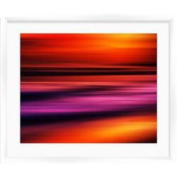 PTM Images Red Sunset II Framed Wall Art