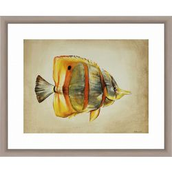 PTM Images Tropical Fish Framed Wall Art