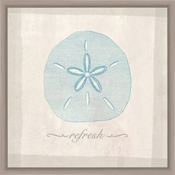 Refresh by the Sea Framed Wall Art