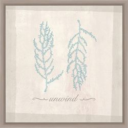 Unwind by the Sea Framed Wall Art