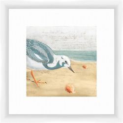 PTM Images Seagull by the Sea Framed Wall Art
