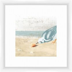 PTM Images Seagull by the Sea II Framed Wall Art
