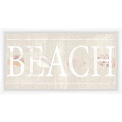 PTM Images Beach Framed Wall Art