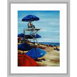 PTM Images Lifeguard In The Tower Framed Wall Art