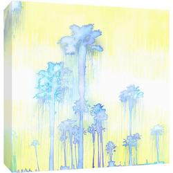 Palm Trees By Day Canvas Wall Art
