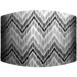 Grey Zig Zag Lamp Shade