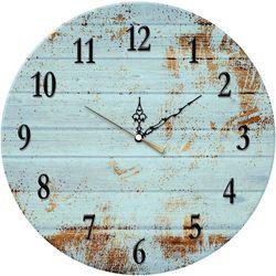 PTM Images Blue Vintage Clock