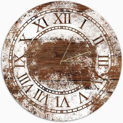 Classic Paint Stains Clock