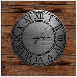 PTM Images Vintage Natural Wood Clock