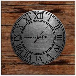Vintage Natural Wood Clock