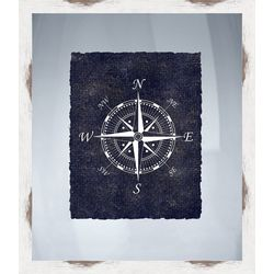 PTM Images Nautical Icons III Framed Wall Art